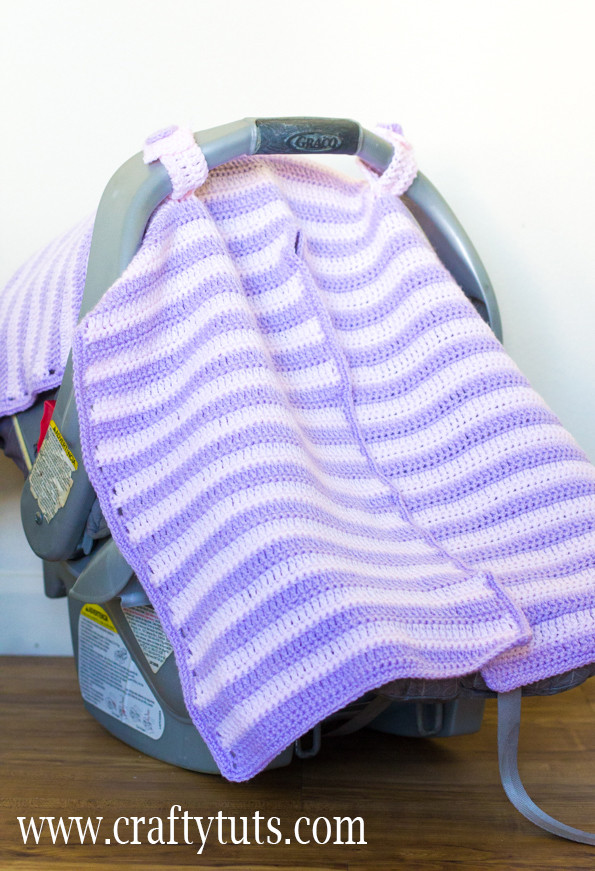 Awesome Crochet Car Seat Cover – Free Pattern – Crafty Tutorials Seat Cover Pattern Of Superb 46 Photos Seat Cover Pattern