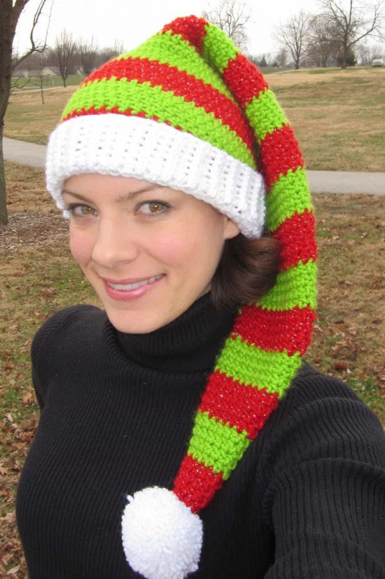Awesome Crochet Christmas Hats that You Ll Love to Make Free Crochet Hat Patterns for Adults Of Incredible 50 Pics Free Crochet Hat Patterns for Adults