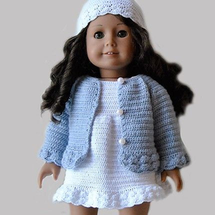 Awesome Crochet Coat Pattern American Girl American Girl Doll Crochet Patterns Of Adorable 47 Pics American Girl Doll Crochet Patterns