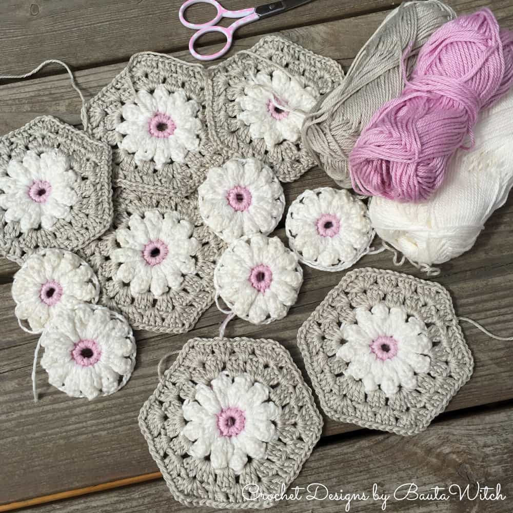 Awesome Crochet Daisy Granny Square Pattern Youtube Video Crochet Granny Squares together Of Marvelous 48 Pictures Crochet Granny Squares together