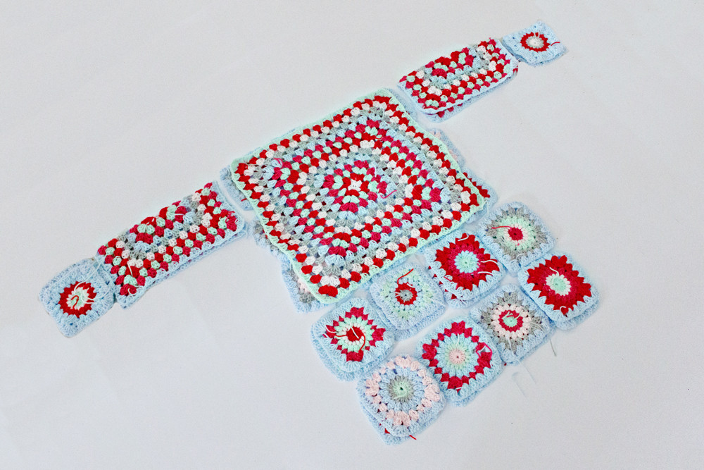 Awesome Crochet Diy Granny Square Cardigan Of Innovative 50 Pics Granny Square Cardigan