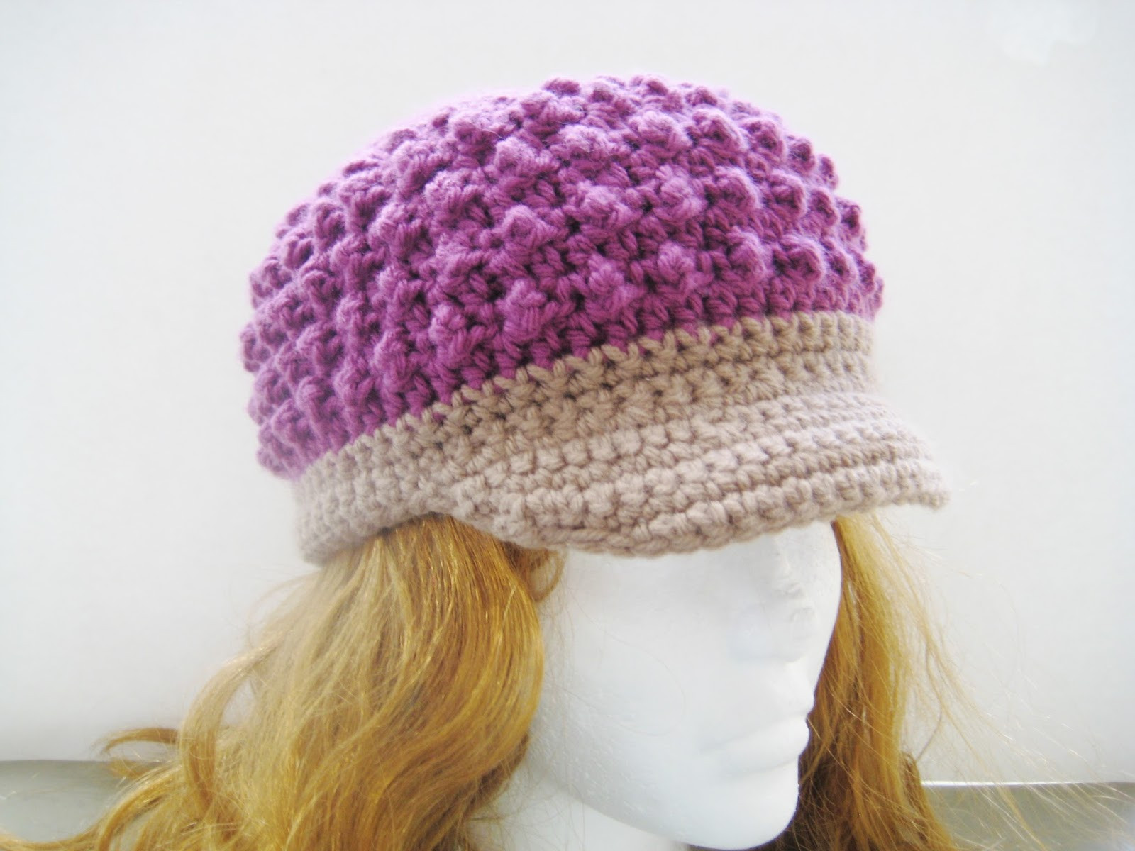 Awesome Crochet Dreamz Visor Beanie Crochet Pattern for Girls and Crochet Hat for Girl Of Amazing 41 Pictures Crochet Hat for Girl