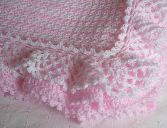 Awesome Crochet Edgings for Baby Blankets Crochet Baby Blanket Edging Of Wonderful 42 Images Crochet Baby Blanket Edging