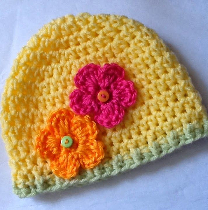 Awesome Crochet Flowers for Hats Free Patterns Free Crochet Hat Patterns for Kids Of Beautiful 43 Photos Free Crochet Hat Patterns for Kids