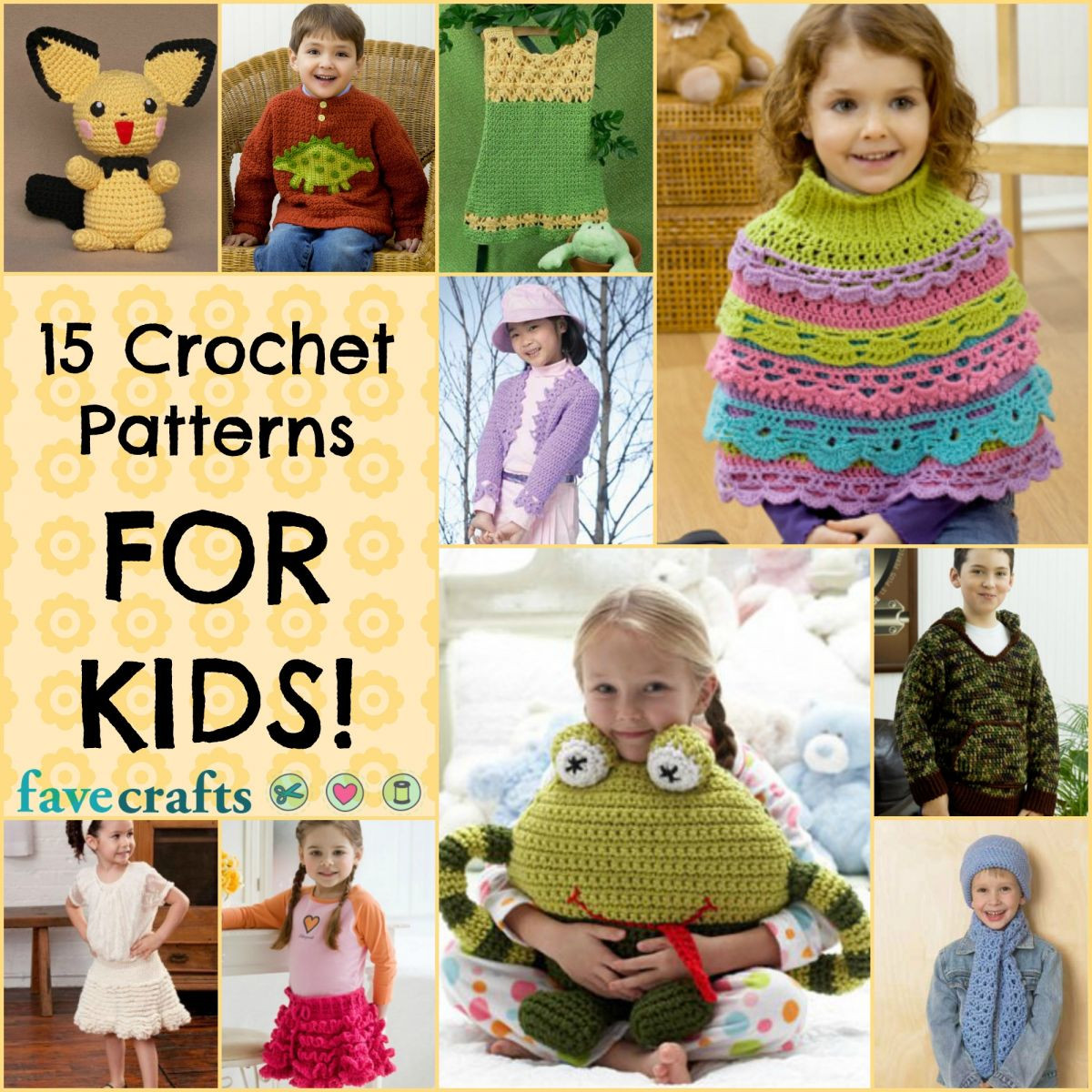 Awesome Crochet for Kids 15 Free Crochet Patterns Crochet Patterns for Kids Of Gorgeous 46 Photos Crochet Patterns for Kids