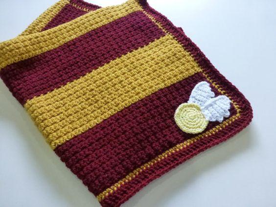 Awesome Crochet Harry Potter Baby Blanket Gryffindor Baby Blanket Harry Potter Crochet Blanket Of Luxury 42 Models Harry Potter Crochet Blanket