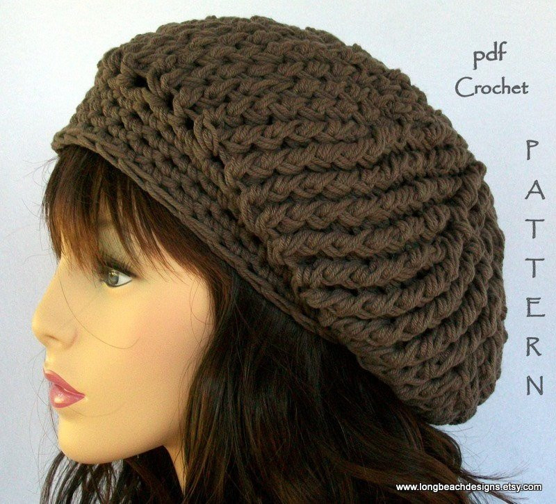 Awesome Crochet Hat Pattern Fourth Avenue Slouchy Hat Permission to Slouchy Beanie Crochet Pattern Free Of Awesome 45 Pics Slouchy Beanie Crochet Pattern Free