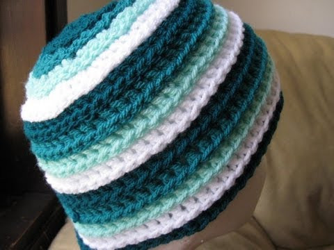 Awesome Crochet Hat Ripple Wave Beanie Tutorial Crochet Tutorial Youtube Of Amazing 43 Pics Crochet Tutorial Youtube