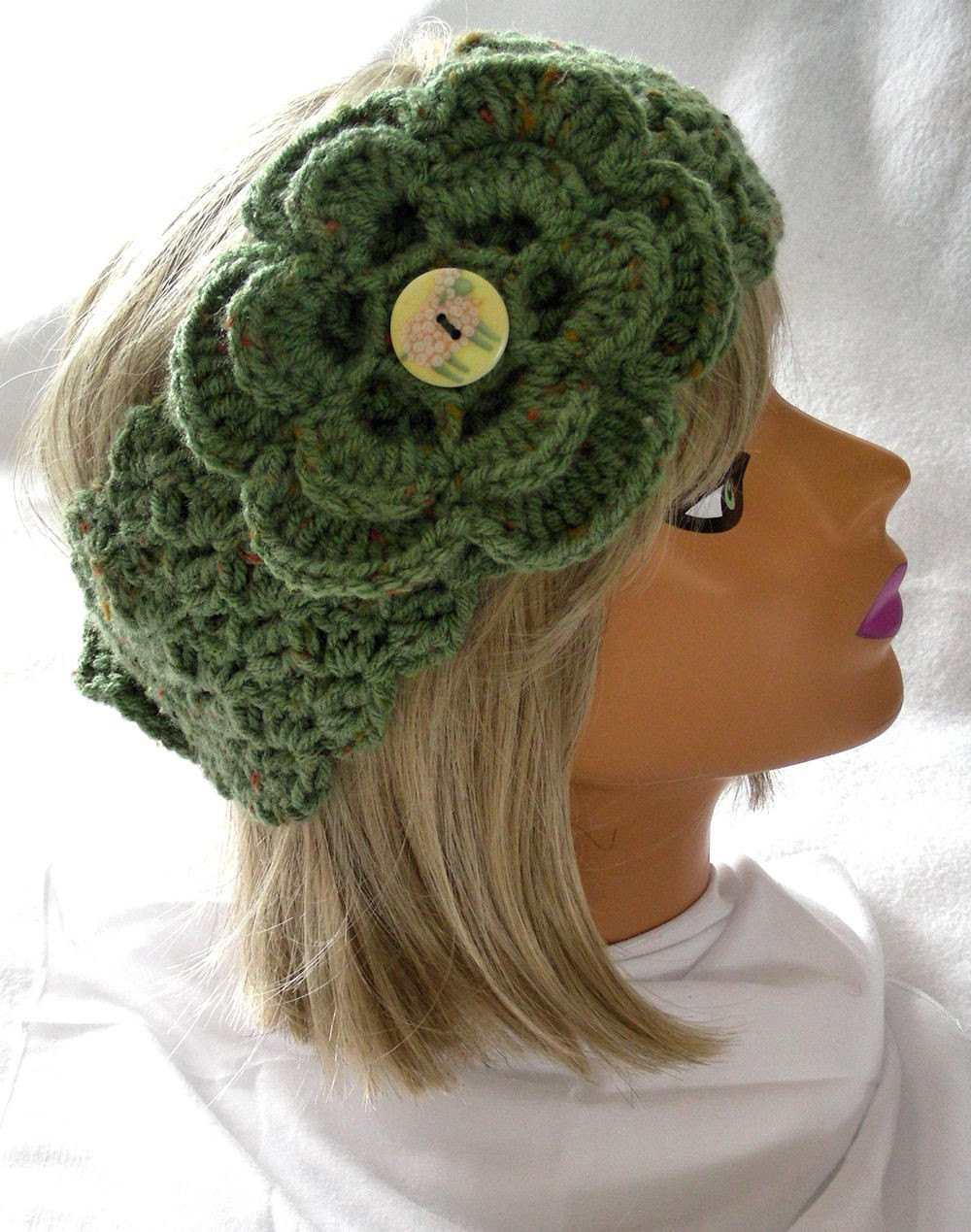 Awesome Crochet Head Warmer Neck Warmer In Pistachio Green by Crochet Head Warmer Of Fresh 39 Photos Crochet Head Warmer