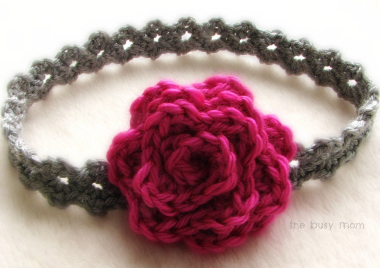 CROCHET Headband PATTERN Elegance All sizes