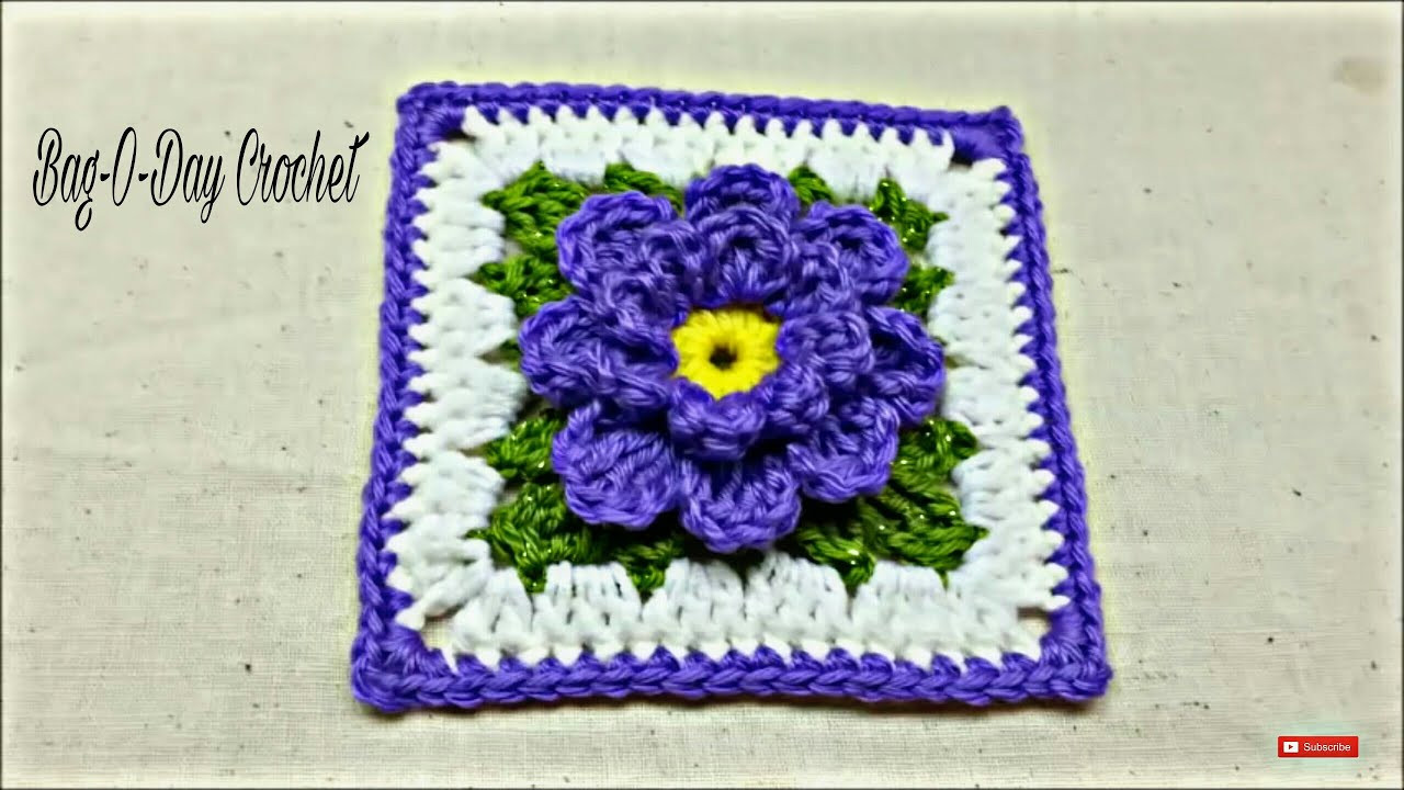 Awesome Crochet How to Crochet Flower Granny Square Tutorial Granny Square Tutorial Of Charming 40 Ideas Granny Square Tutorial
