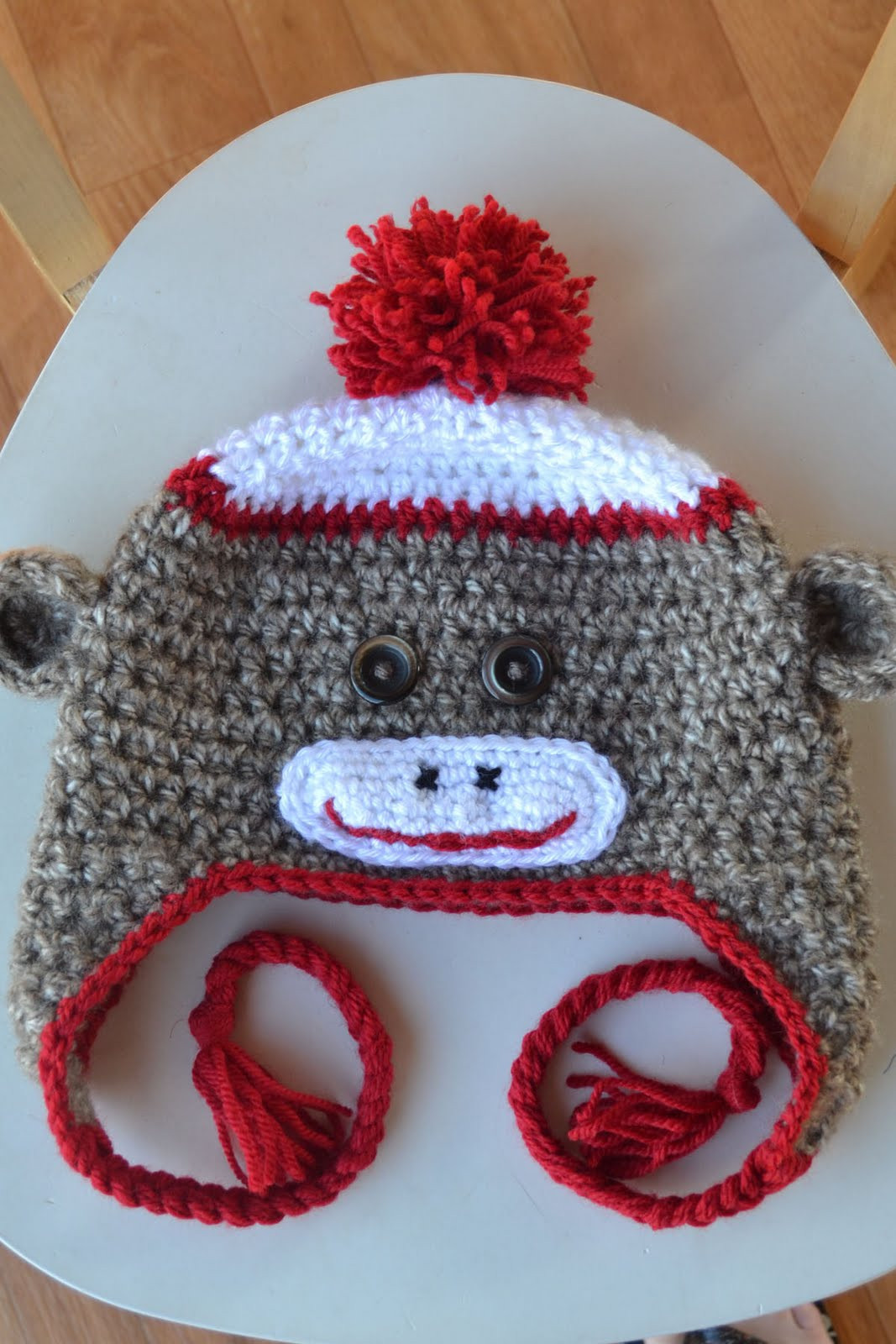 Awesome Crochet In Color Just Another sock Monkey Hat Pattern Free Crochet Monkey Pattern Of Innovative 50 Ideas Free Crochet Monkey Pattern
