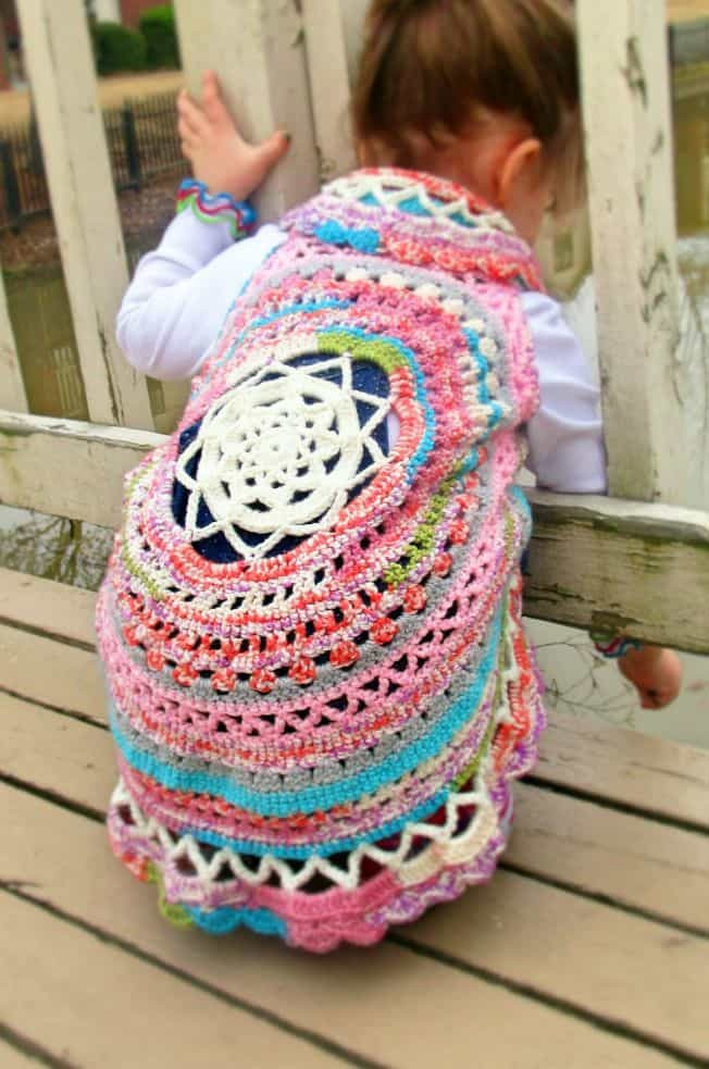 Awesome Crochet Jacket Lots Gorgeous Free Patterns Circle Vest Crochet Pattern Of Incredible 43 Ideas Circle Vest Crochet Pattern