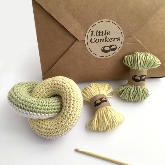 Crochet Kit DIY Kit Beginner Crochet Kit Crochet Gift