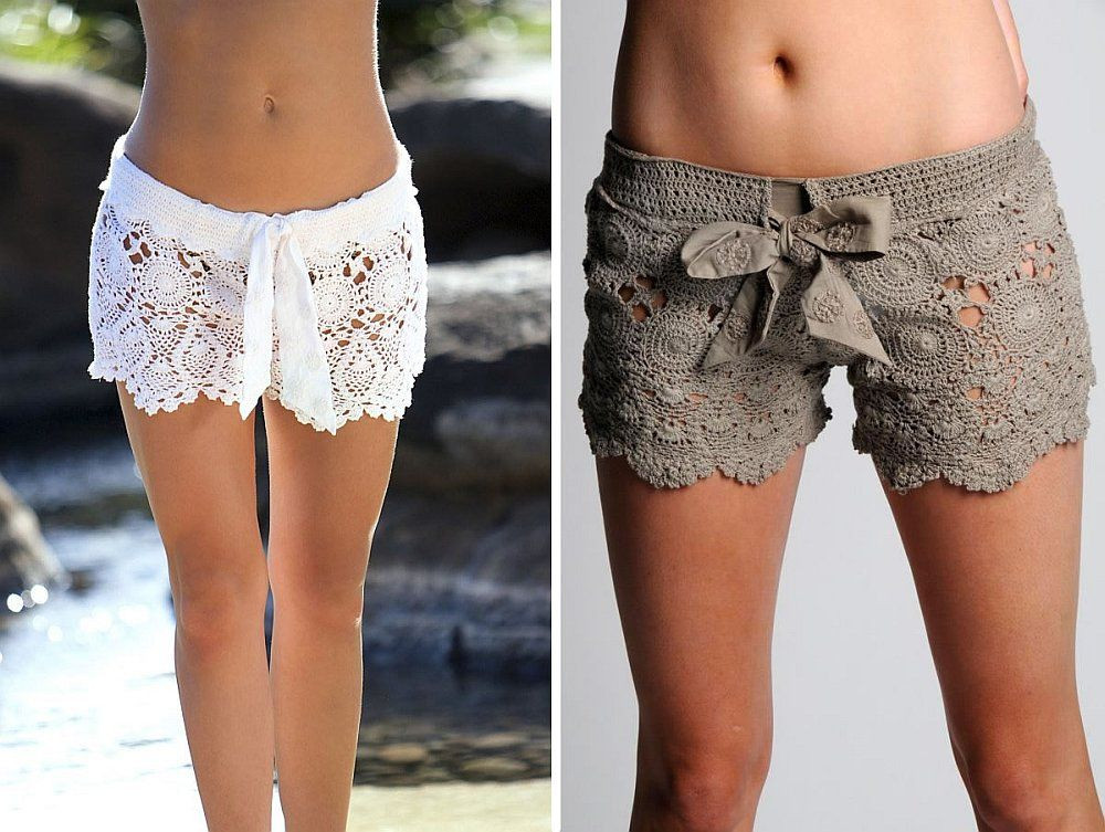 Awesome Crochet Lace Beach Shorts Free Pattern and Guide Crochet Beach Pants Of New 50 Ideas Crochet Beach Pants