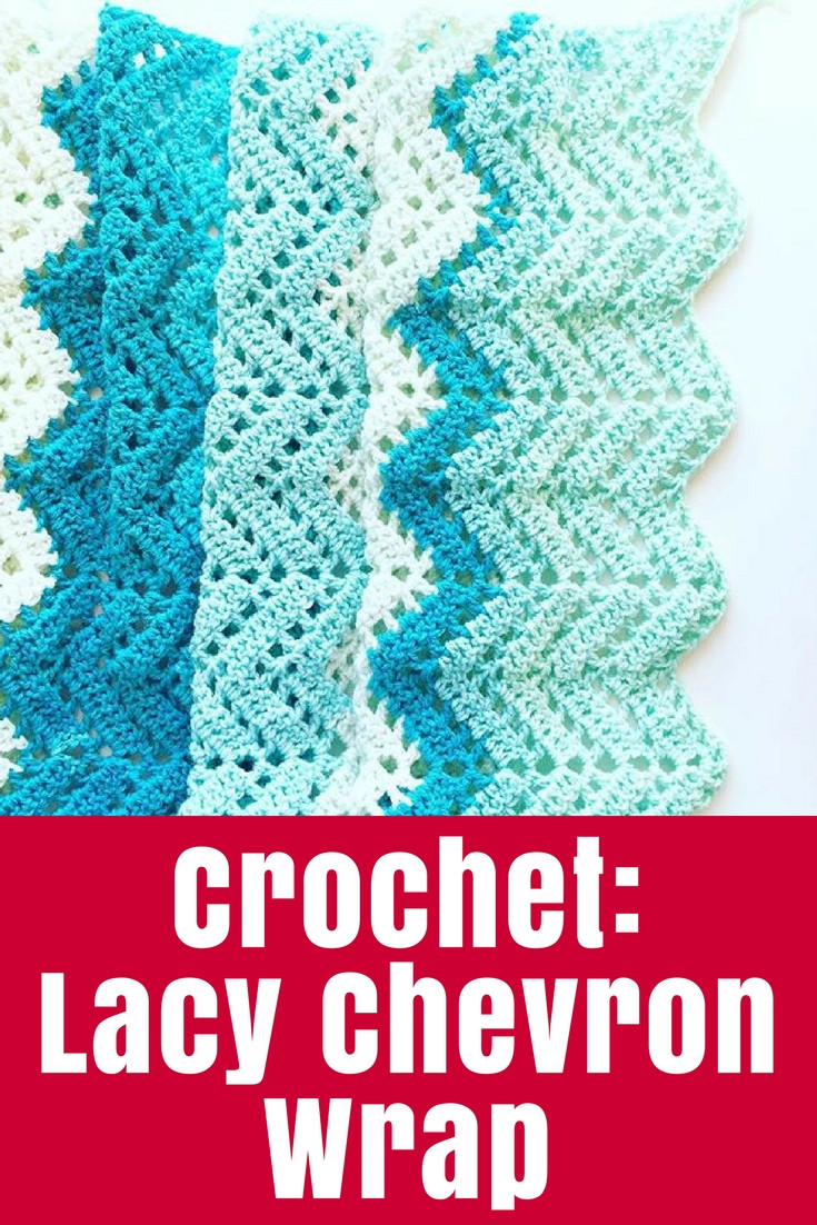 Awesome Crochet Lacy Chevron Wrap • the Crafty Mummy Caron Cotton Cakes Patterns Of Beautiful 45 Images Caron Cotton Cakes Patterns