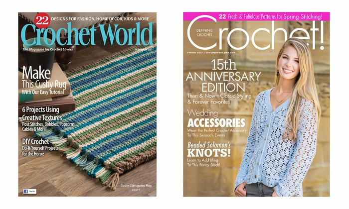 Awesome Crochet Magazine Subscriptions Crochet and Crochet Crochet World Magazin Of Marvelous 46 Photos Crochet World Magazin