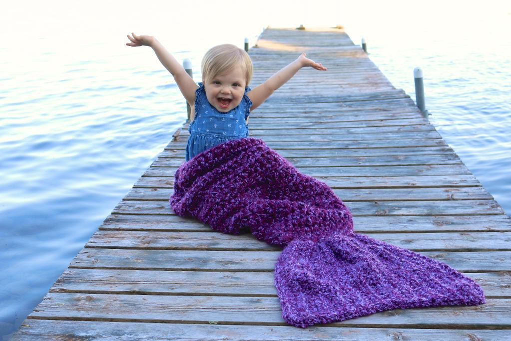 Awesome Crochet Mermaid Tail Blankets & Props for Kids & Adults Mermaid Blanket Child Of Contemporary 49 Ideas Mermaid Blanket Child