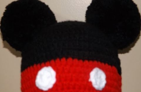 Awesome Crochet Mikey Mouse Hat Mikey Crochet Of New 49 Images Mikey Crochet