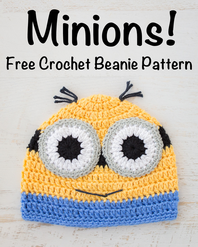 Awesome Crochet Minions Beanie – Free Pattern Loganberry Handmade Free Minion Crochet Pattern Of Marvelous 44 Images Free Minion Crochet Pattern