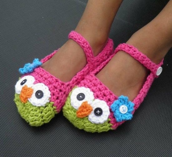 Awesome Crochet Owl Mary Jane Slippers are the Cutest Crochet Mary Jane Slippers Of Amazing 41 Images Crochet Mary Jane Slippers