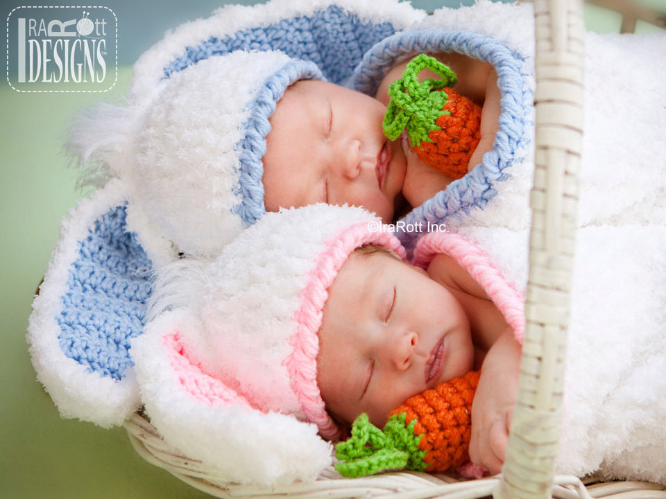 Awesome Crochet Pattern Bunny Rabbit Baby Hat with Carrot and Cocoon Baby Bunny Hat Of Brilliant 47 Pictures Baby Bunny Hat
