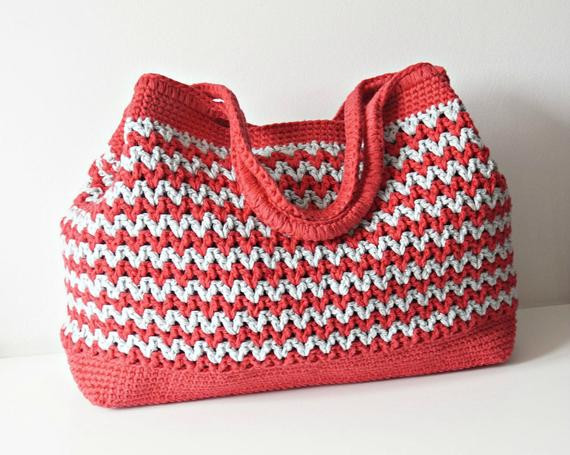 Awesome Crochet Pattern Crochet Bag Pattern tote Pattern by iswoolish Crochet Shoulder Bag Of Fresh 47 Pics Crochet Shoulder Bag