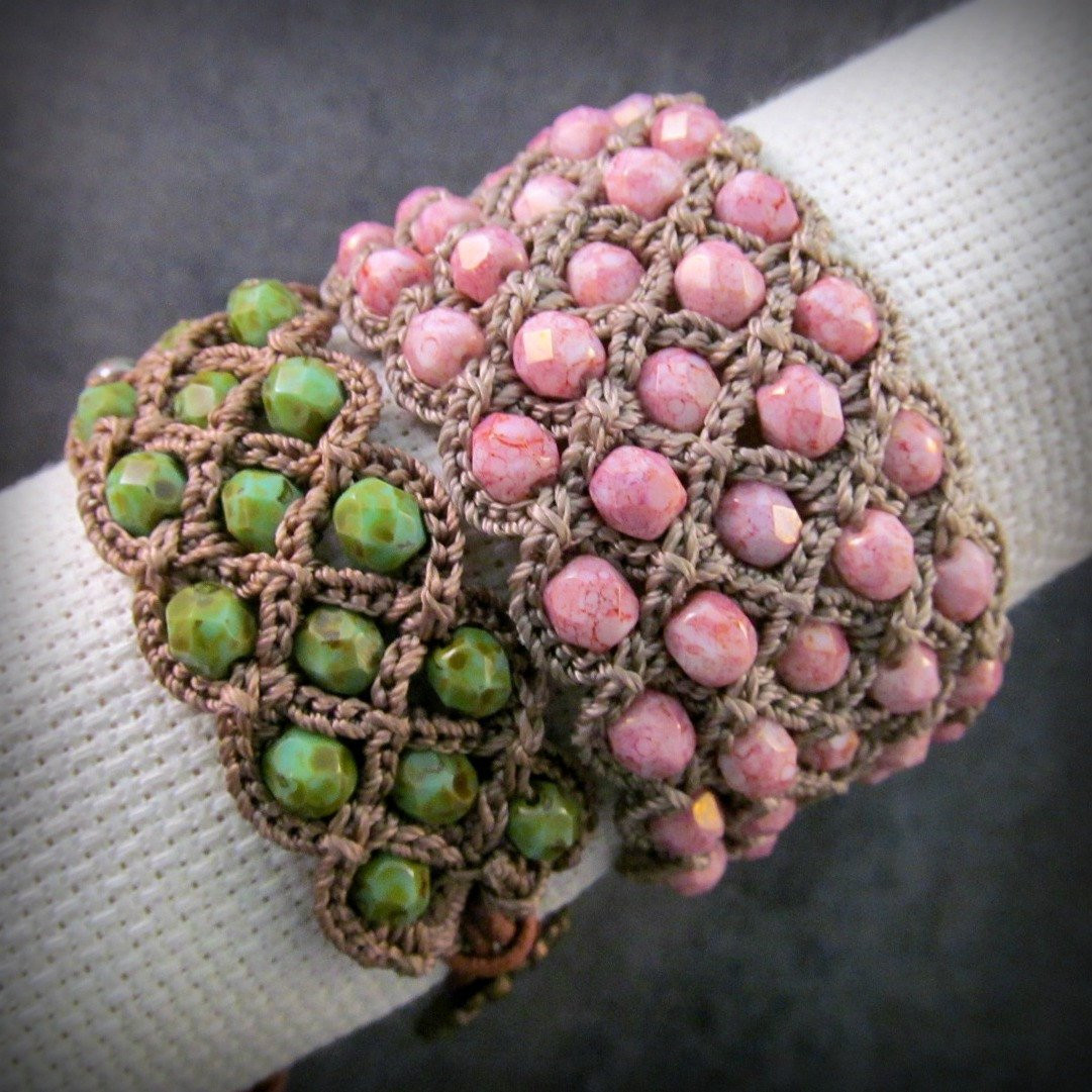 Awesome Crochet Pattern Crochet Cuff Bracelet Crochet Beaded Crochet Beaded Bracelet Pattern Of Brilliant 49 Images Crochet Beaded Bracelet Pattern