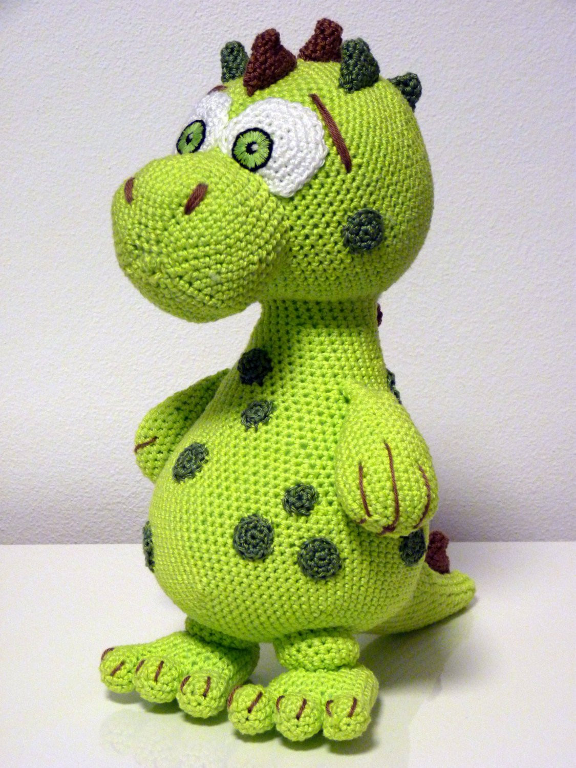 Awesome Crochet Pattern Dinosaur Lucky Amigurumi Pdf Cute Green Dino Free Dinosaur Crochet Pattern Of Wonderful 42 Pictures Free Dinosaur Crochet Pattern