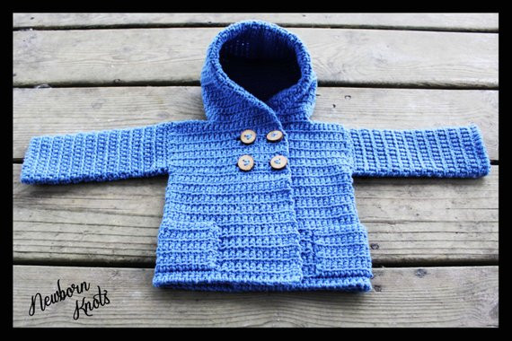Awesome Crochet Pattern for Baby Boy or Girls Hooded Sweater Coat with Crochet Hooded Sweater Pattern Of Great 48 Pictures Crochet Hooded Sweater Pattern