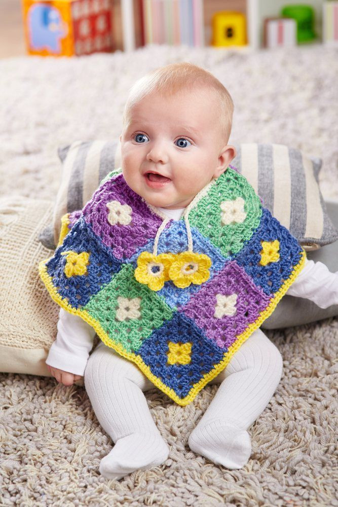 Awesome Crochet Pattern for Baby Poncho Crochet Baby Poncho Of Amazing 45 Pics Crochet Baby Poncho