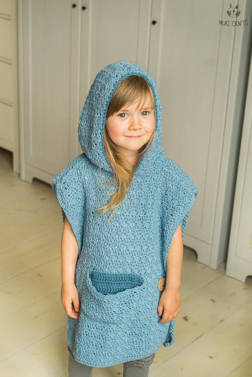 Awesome Crochet Pattern Hooded Poncho Maura with A Pocket and Crochet Poncho with Hood _crochet Poncho with Hood