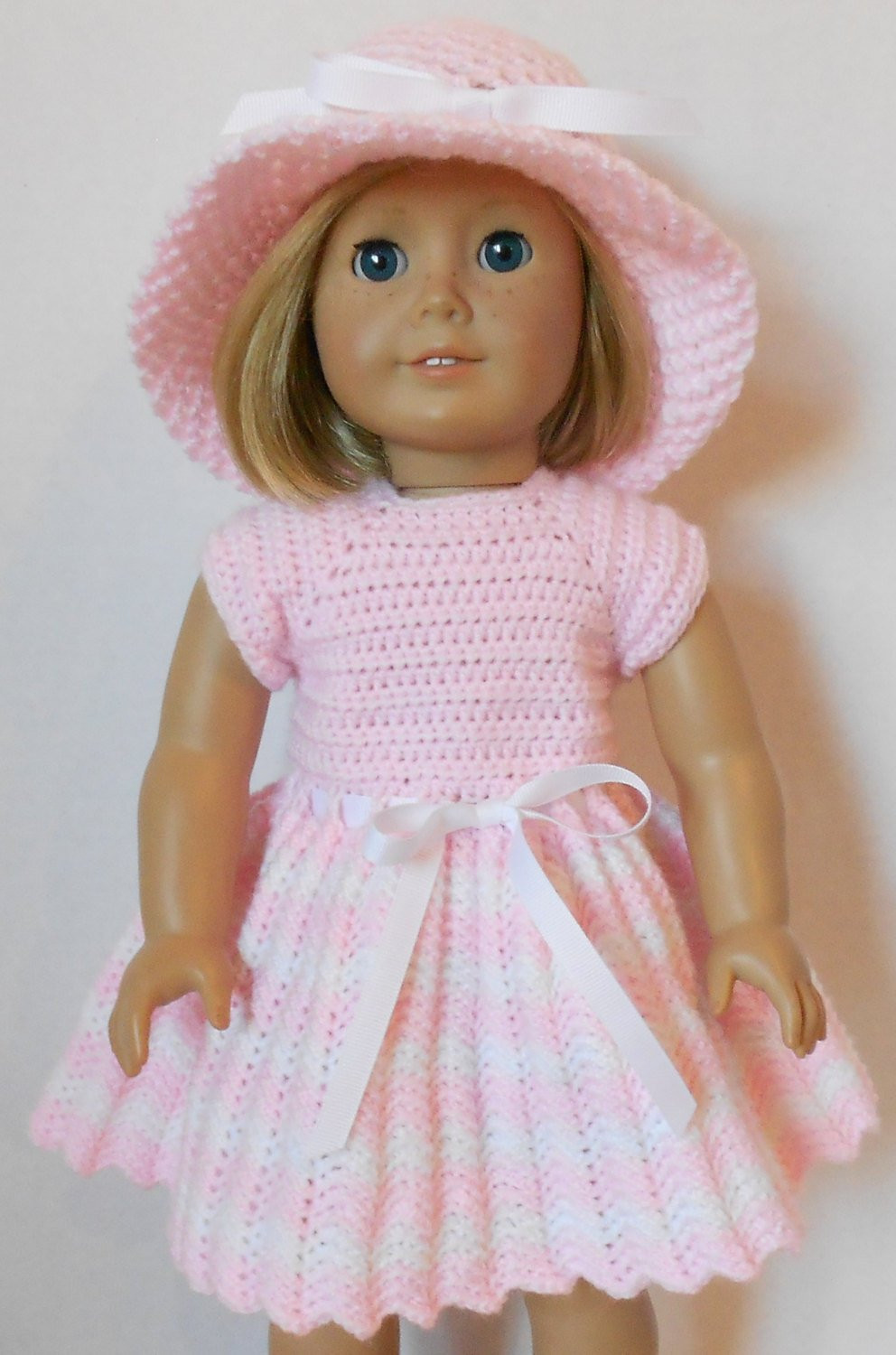 Awesome Crochet Pattern Pdf Spring Dress and Hat American Doll Clothes Patterns Of Superb 48 Ideas American Doll Clothes Patterns