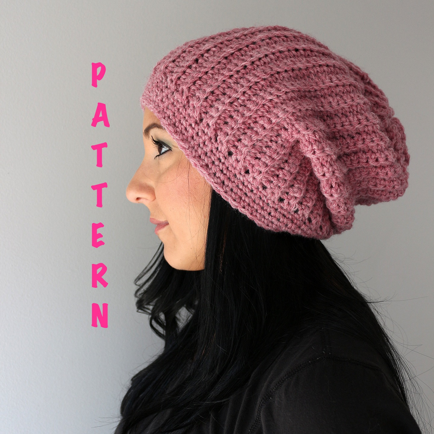 Awesome Crochet Pattern Ribbed Slouchy Beanie Hat Crochet Ribbed Crochet Adult Beanie Of Lovely 47 Pics Crochet Adult Beanie
