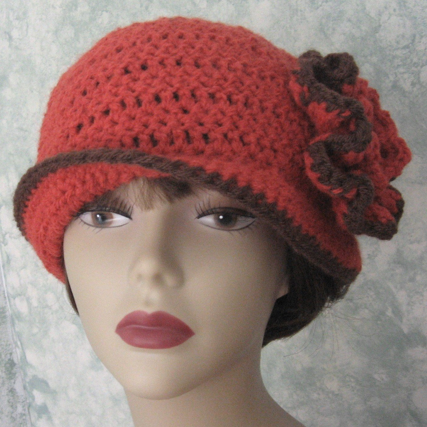 Awesome Crochet Pattern Womens Flapper Hat Epattern with Double Flower Free Crochet Hat Patterns for Ladies Of Amazing 41 Pictures Free Crochet Hat Patterns for Ladies