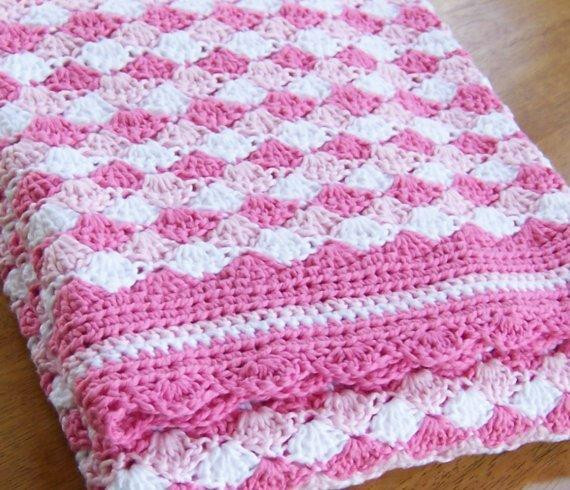 Awesome Crochet Patterns Baby Blankets Shell Stitch Baby Blanket Of Brilliant 49 Images Shell Stitch Baby Blanket