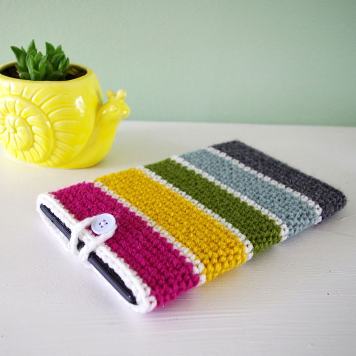 Awesome Crochet Patterns Crochet Tablet Cover Of Delightful 46 Ideas Crochet Tablet Cover