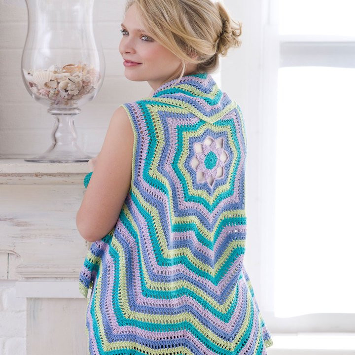 Awesome Crochet Pretty Circle Jacket with Pattern Page 2 Of 3 Vest Pattern Free Of Amazing 43 Images Vest Pattern Free