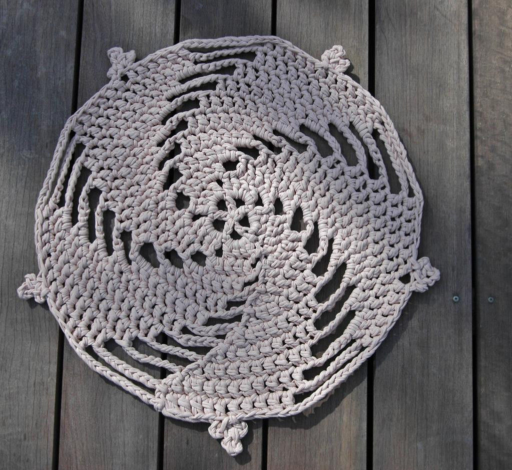 Awesome Crochet Rug Patterns for A Handmade Home Free Crochet Rug Patterns Of Delightful 48 Pics Free Crochet Rug Patterns