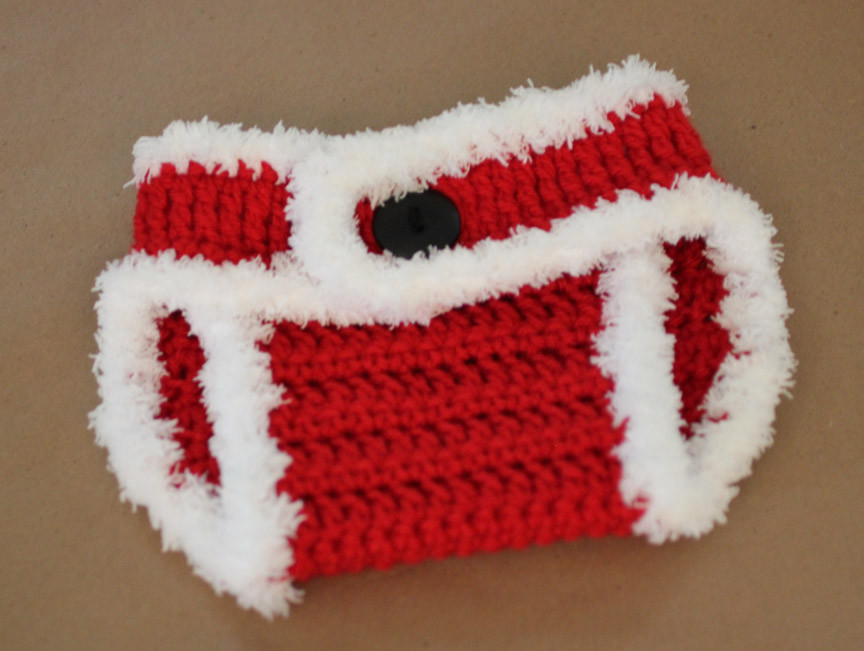 Awesome Crochet Santa Hat and Diaper Cover Repeat Crafter Me Santa Hat Pattern Of Awesome This Chunky Knit Santa Hat Will Be the Coziest Thing You Santa Hat Pattern