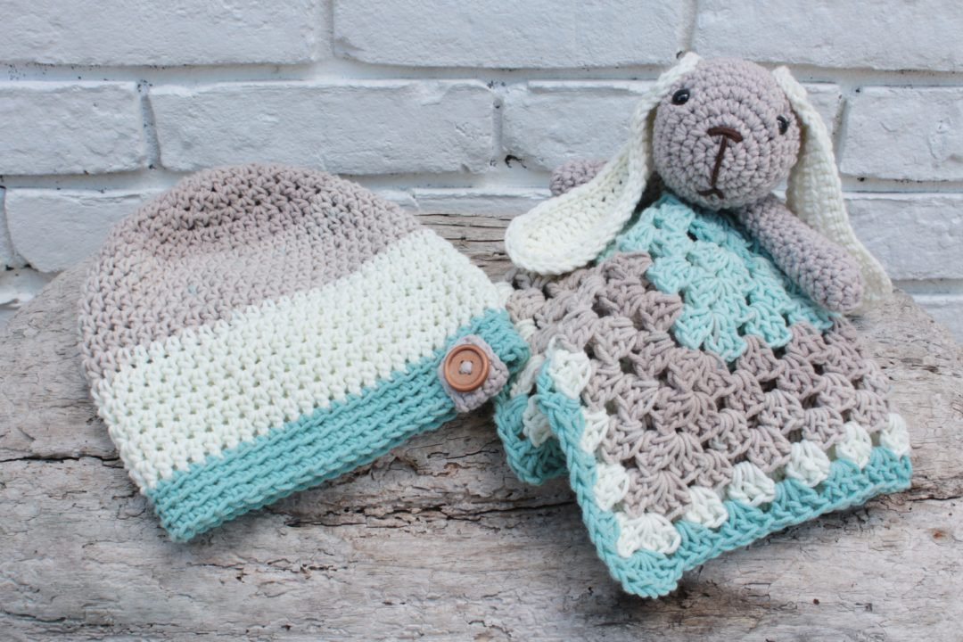 Awesome Crochet Slouch and Bunny Lovey Free Pattern for Babies Free Crochet Lovey Pattern Of Attractive 43 Pics Free Crochet Lovey Pattern