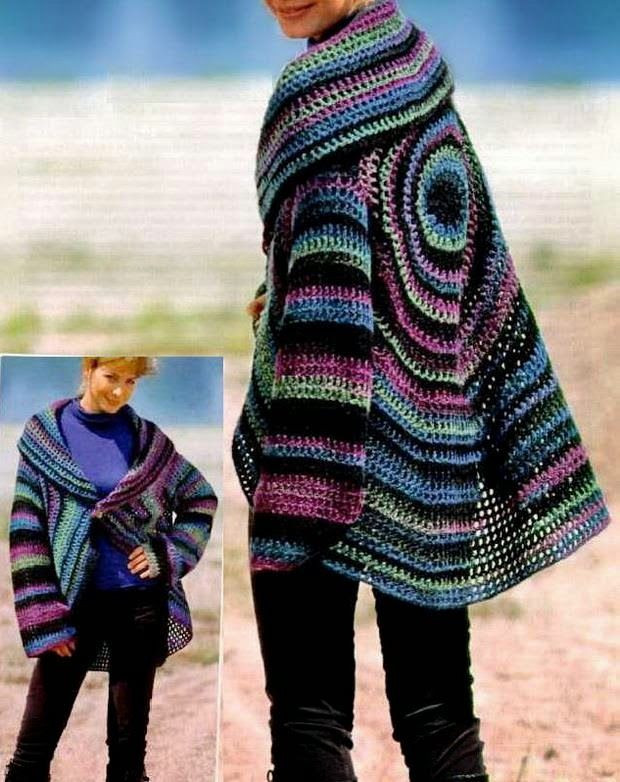 Awesome Crochet Sweaters Crochet Cardigan Circle Pattern Circle Sweater Of Innovative 50 Ideas Circle Sweater