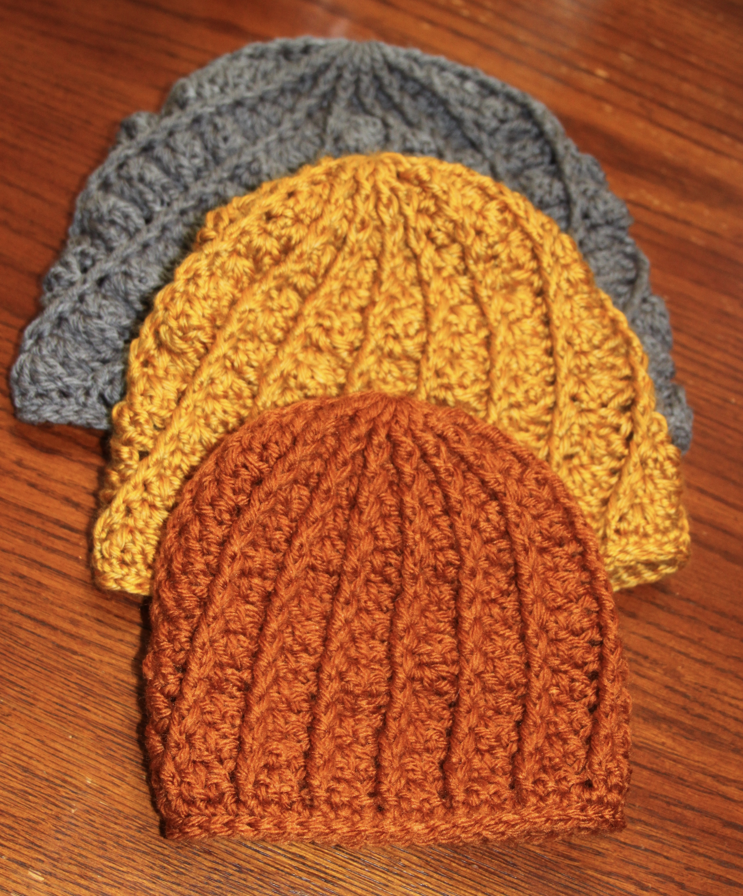 Awesome Crochet Texture Beanie Free Pattern Crochet Hat Free Double Crochet Hat Of Great 43 Models Double Crochet Hat