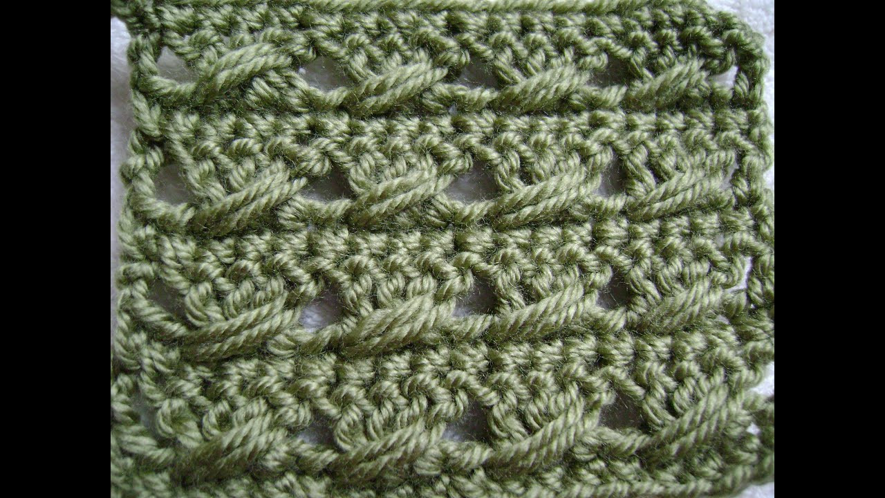 Awesome Crochet the Double Crochet with A Twist Pattern Youtube Crochet Videos Of Lovely 45 Images Youtube Crochet Videos