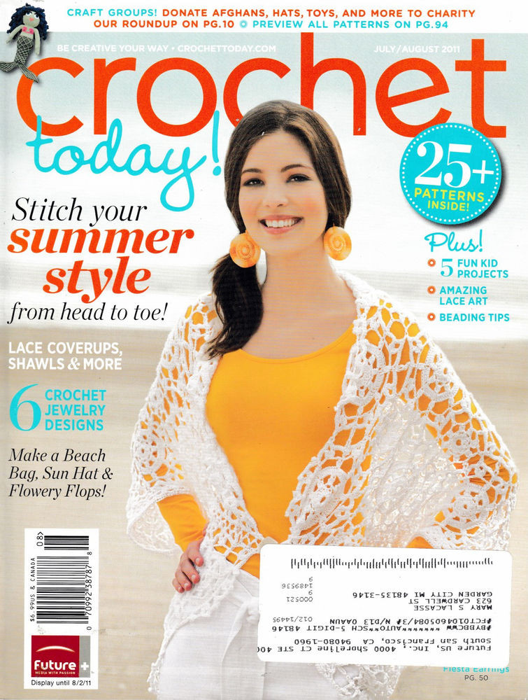 Awesome Crochet today Magazine July August 2011 Excellent Crochet now Magazine Of Wonderful 46 Images Crochet now Magazine