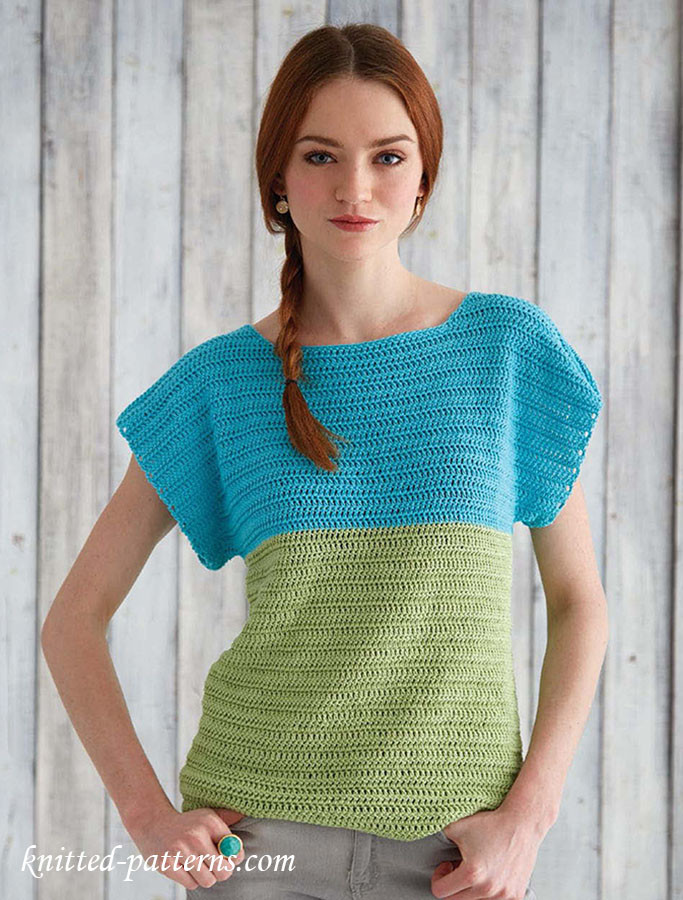 Awesome Crochet top for Beginners Women's Knitted Vest Patterns Of Amazing 48 Ideas Women's Knitted Vest Patterns