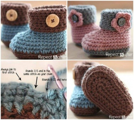 Awesome Crochet Ugg Booties Pattern Free Easy Video Tutorial Crochet Uggs Boots Of New 45 Ideas Crochet Uggs Boots