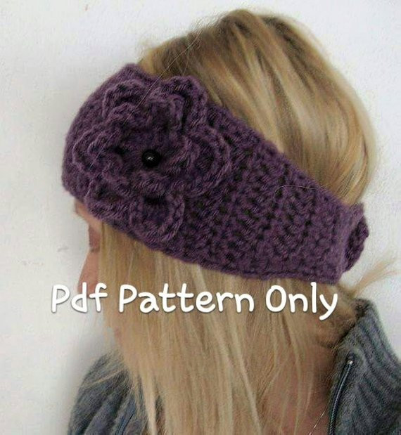 Awesome Crochet Wide Head Warmer Pattern Pdf Crochet Head Warmer Of Fresh 39 Photos Crochet Head Warmer