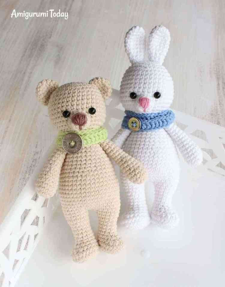 Awesome Cuddle Me Bunny Amigurumi Pattern Amigurumi today Crochet today Of Beautiful 40 Photos Crochet today