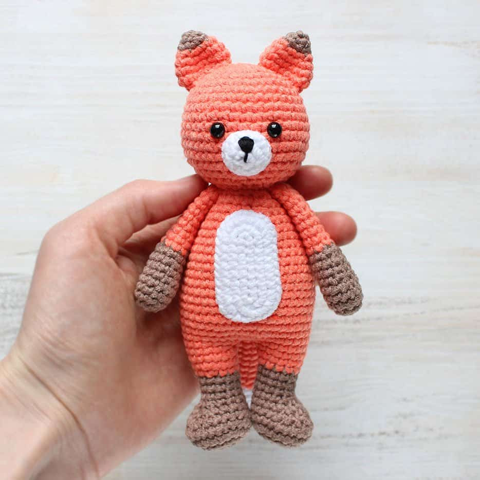 Awesome Cuddle Me Fox Amigurumi Pattern Amigurumi today Crochet today Of Beautiful 40 Photos Crochet today
